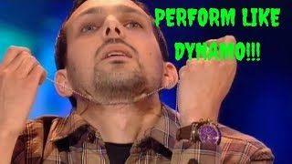 Learn Dynamo's Famous Chain Through Neck Trick