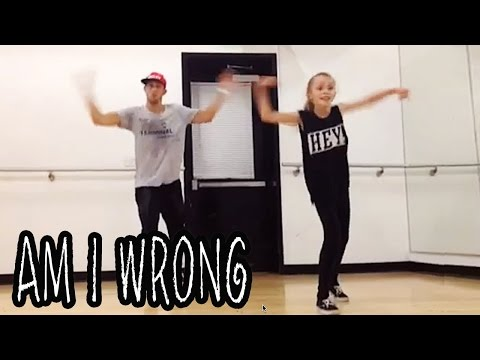 'AM I WRONG' Dance Video | @MattSteffanina ft 11 year old TAYLOR HATALA