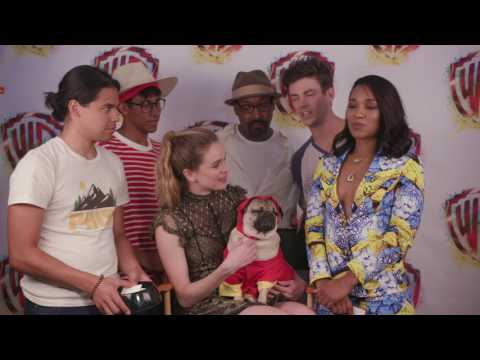 Doug the Pug Interviews THE FLASH at Comic-Con 2017 #WBSDCC