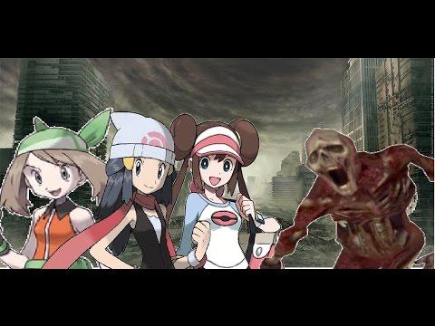 Pokemon Zombie City: Rosa, May, and Dawn (Garry