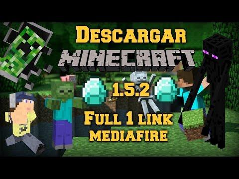 Descargar Minecraft 1.5.2 Full Español 1 Link [Mediafire] Especial 900 Subs