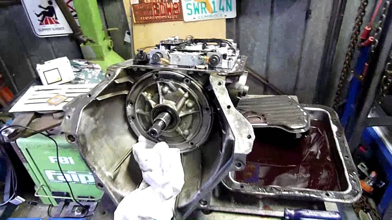 Vs Holden Commodore Auto Trans 4l60e Autopsy With Ed