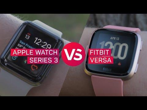 Apple Watch vs. Fitbit Versa