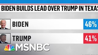 Biden Leads Trump In New Texas Poll | MSNBC