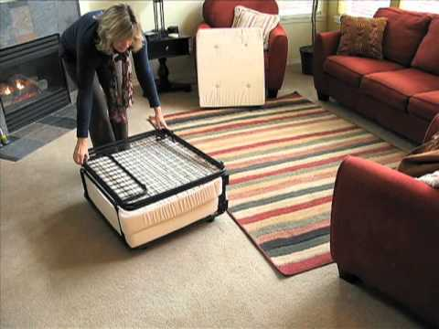 Fold Out Ottoman Solutions Com Youtube