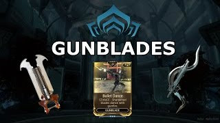 Warframe Stances - Bullet Dance (Gunblades)