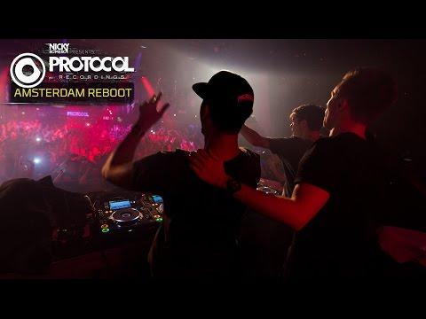 Nicky Romero + Martin Garrix + Afrojack live at Protocol 'ADE Reboot' (Full Set)