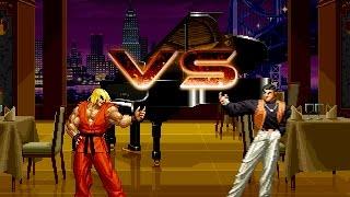 Ken Masters VS Robert Garcia