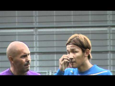 Interview Takashi Usami Tainingsauftakt TSG Hoffenheim 19.6.12
