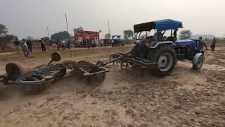 Powertrack EURO 60 tractor going to starting point in Saiya Khera
