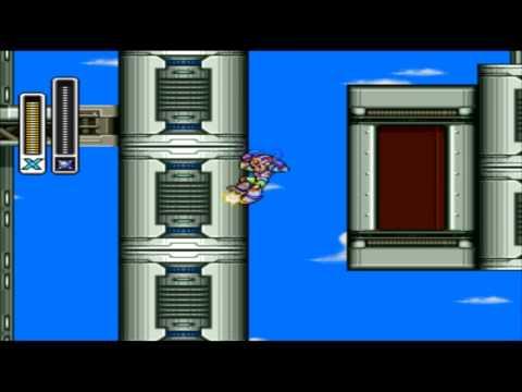 Walkthrough FR l Megaman X3 l Mecha : Hawk Carrier