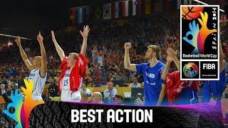 Finland v Ukraine - Best Action - 2014 FIBA Basketball World Cup