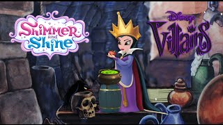 Shimmer and Shine Zeta Episode Color Disney Snow White Evil Queen