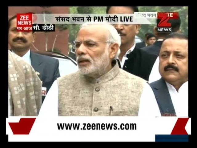 PM Modi greets nation on occasion of first Constitution Day