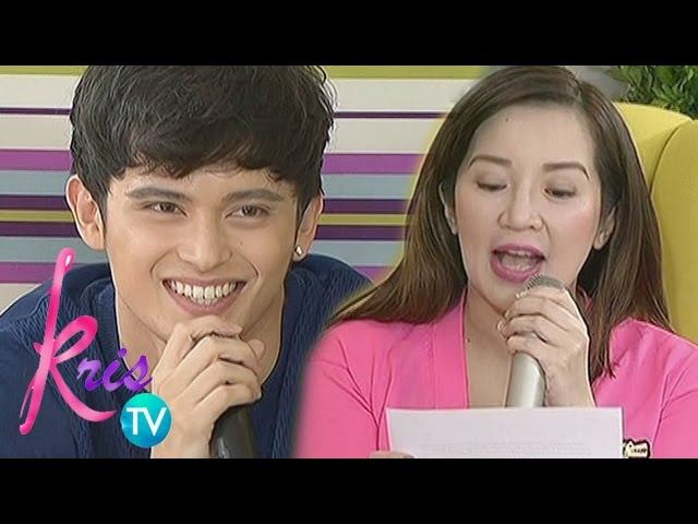 Kris TV: A letter for James Reid