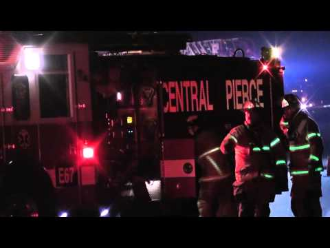 Tacoma Puyallup River road teen rollover accident 04/04/2013