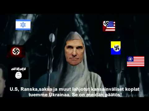 John Kerry announce arming Ukraine  to his loyal legionin in NATO meeting! Fin subs.