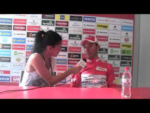Joaquim Rodríguez, nurevo líder de la Vuelta