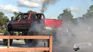 Truck Burnouts at TCR
