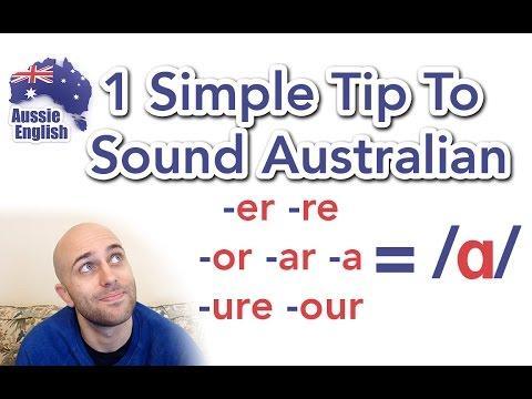 1 Simple Tip To Sound Australian: /ɑ/   Aussie Accent   Learn Australian English