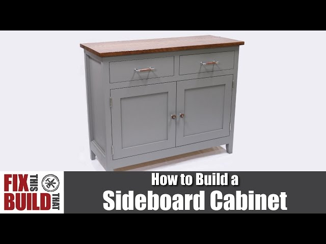How to build inset cabinets