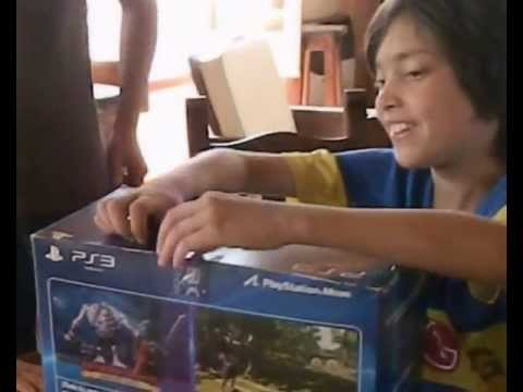PAPA NOEL MALO !!!  PLAY STATION 3 FAIL !!!