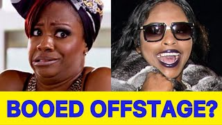 #RHOA DRAMA! Foxy Brown Booed Offstage During Kandi's Welcome To The Dungeon Tour (VIDEO)