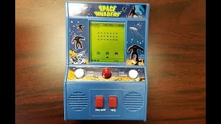 Classic Game Room - SPACE INVADERS LCD game review