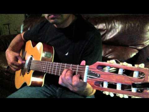 CHehra Hai Ya Chand  ( Saagar Jaisi Ankhonwali-) GUitar Arrangement...