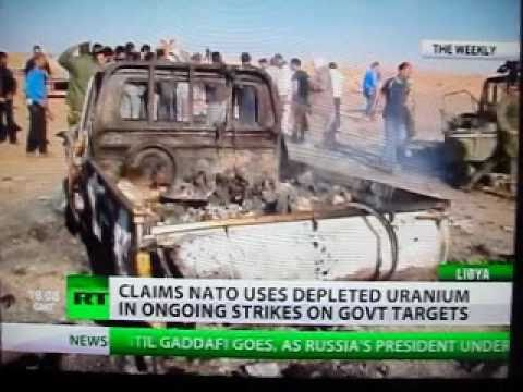 As During Other Interventions, NATO Bombs Libya With Depleted Uranium.