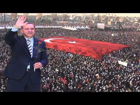 Recep Tayyip Erdoğan - AK Parti Seçim Müziği 2014 (Anka İlahi Grubu - Erdoğan)