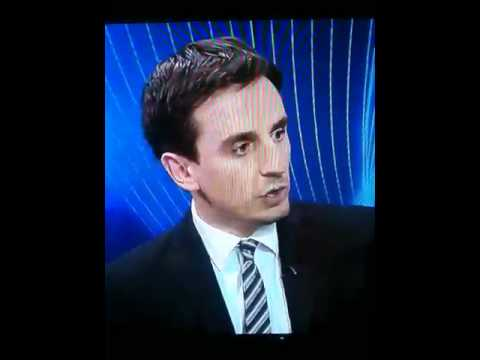 Gary Neville Goes Mad On Sky Sports