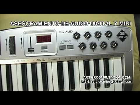 ORIGIN 25 TECLADO CONTROLADOR MIDI DE MIDIPLUS USB EN ARTIER