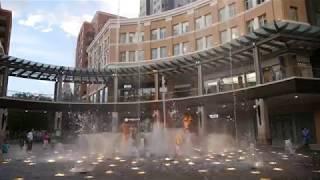 """City Creek Center Fountain Show: """"Salt Lake City"""" by The Beach Boys"""