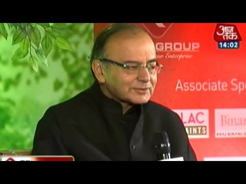 Agenda Aaj Tak: Finance Minister Arun Jaitley talks about Modi govt