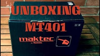 Unboxing maktec MT401 blower by makita + demo on PC [iPhone6S+]