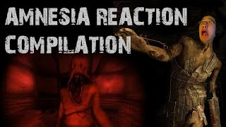 Amnesia Reaction Compilation [SPED UP}