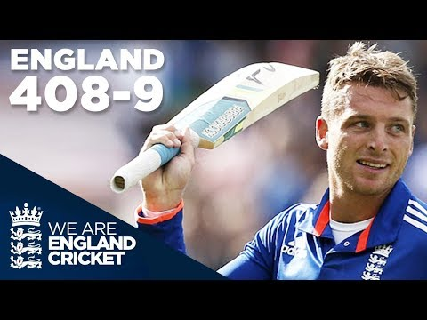 England Hit Record 408 9 In ODI V New Zealand 2015 Extended Highlights