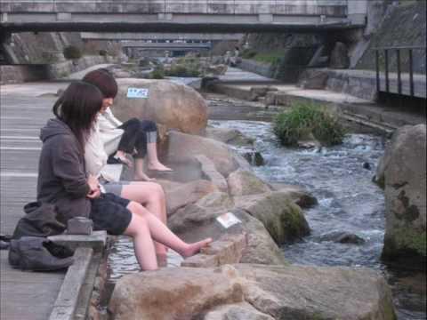 玉造温泉2008.4.5.足湯.wmv