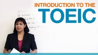 Introduction to the TOEIC
