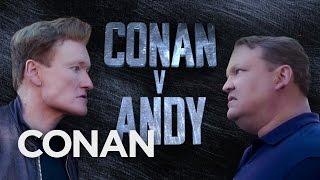 Conan V Andy: Dawn Of #ConanCon  - CONAN on TBS