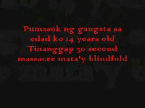 Hukbalahap:Buhay Ng Gangsta Lyrics   LyricWiki   FANDOM ...