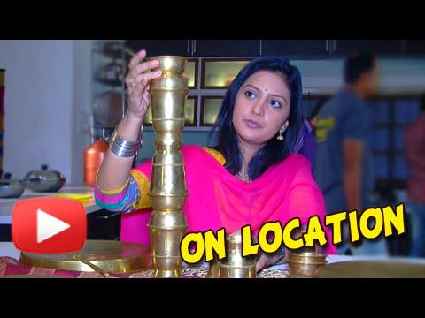 Honar Sun Mi Hya Gharchi - Behind the Scenes - Tejashri Pradhan in ...