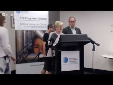 *Live* Children in Immigration Detention Report Press Conference