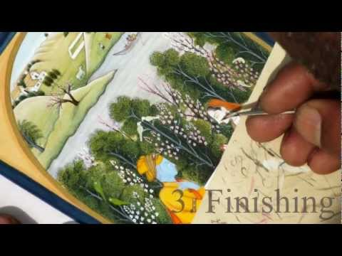 Pahari Miniature Paintings: The Technique