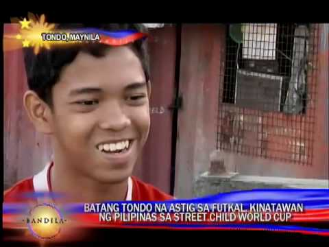 From streets of Tondo to street football fame