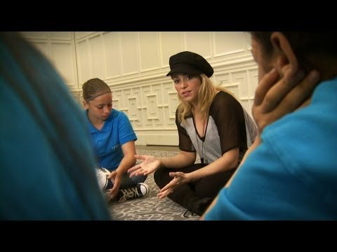 UNICEF Goodwill Ambassador Shakira promotes girls' development