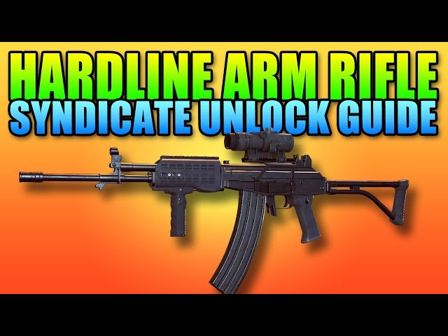 Battlefield Hardline Beta ARM Assault Rifle Unlock Guide | Operator Syndicate Assignment