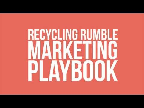 Recycling Rumble Marketing Playbook - FundingFactory Quick Tips