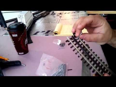 O gauge track screws. review